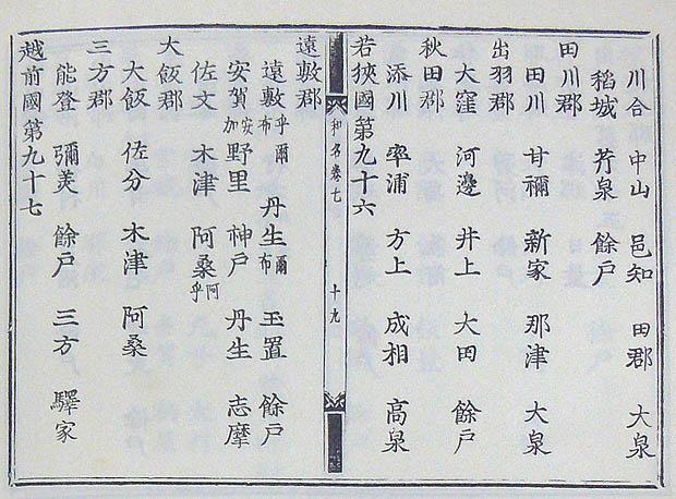 第2回 地名の表記と変遷(3)日本書紀