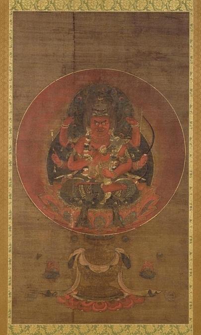 愛染明王像[百科マルチメディア]