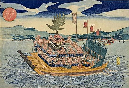 厳島神社の管絃祭[百科マルチメディア]