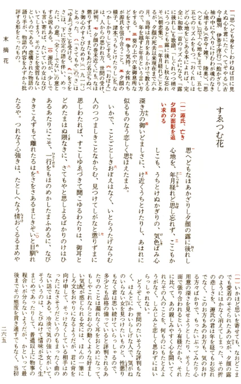 源氏物語 須磨の秋 品詞分解
