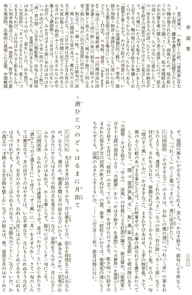 俳諧集 P360