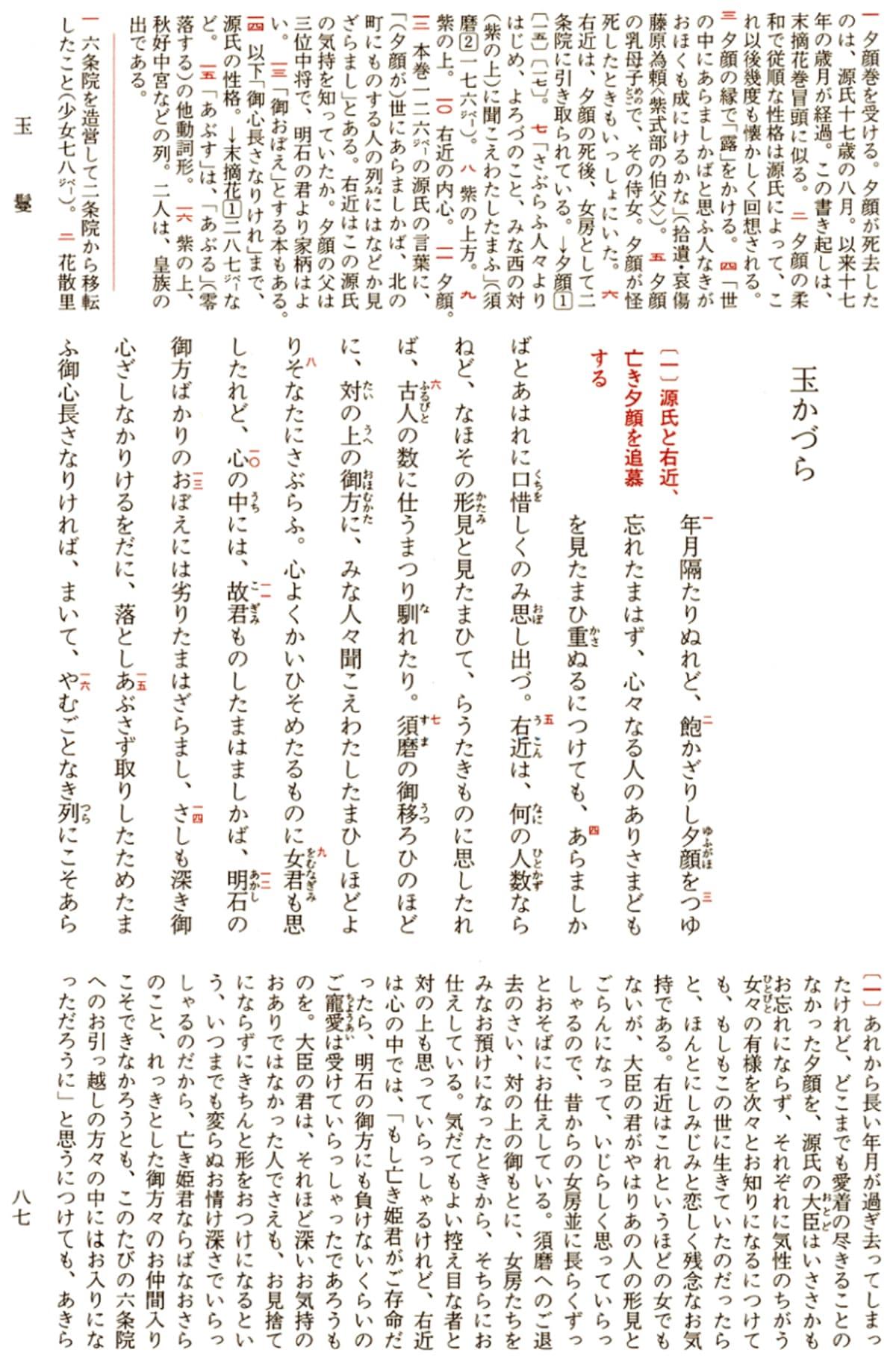 玉鬘(源氏物語) 拡大